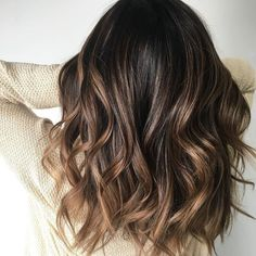 Dark brown hair Color With Highlights for fall,fall hair colors| ultra warm tones,Balayage Hair Colors #haircolor #brownhair #highlighthair #babylights #hairpainting #ombre #balayageombre #blonde #balayagehighlights #balayage