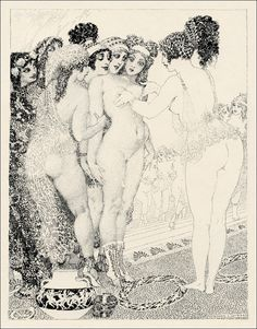 Lysistrata by Aristophanes.  Illustrations by Norman Lindsay, 1926.