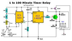 1 to 100 Minute Timer Relay
