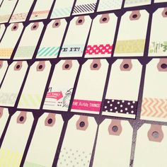 washi labels
