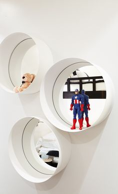 The new apartmente designed by Kelly Hoppen for YOO - here the kids room. Check out the other spaces.