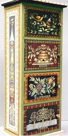 Birds & Bees Cabinet (MW038)