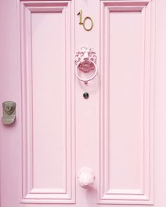 This pristine door. When in doubt, think pink. Pink Love, Pretty In Pink, Pink Pink Pink, Blush Pink, Pale Dogwood, Rosa Rose, Poster Design, Pink Themes, Aesthetic Colors