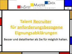 PEP Talent Recruiter - für die Personalauswahl Success Factors, Education