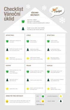 Uklidit byt za jedno dopoledne? S naším plánem je to hračka - a navíc máme i tipy, jak navodit vánoční atmosféru.