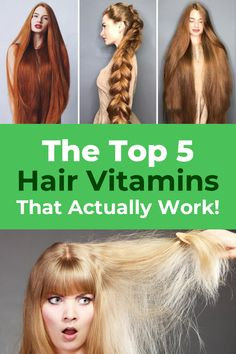 What Are the Most Effective Hair Growth Vitamins On The Market Today? Best Hair Vitamins, Vitamins For Hair Growth, Braided Hairstyles, Cool Hairstyles, Natural Hair Styles, Long Hair Styles, Brown Blonde Hair, Hair Remedies, Hair Health