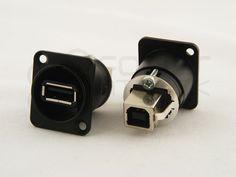 Recess USB Port