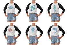 Vietsbay Women'S  Tribal Abstract Fish Printed Cotton T-Shirt Wts_03