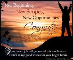 dgreetings new job congratulations card