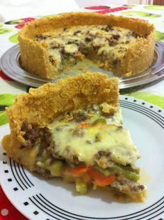 Massa de grão de bico para torta – Sem Glúten POR JULIANA BARROS Mais