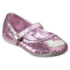 Target Mobile Site - Toddler Girl's Hello Kitty Sequin Mary Jane - Pink