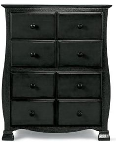 Savana Savanna 4-Drawer Chest - Black from JCPenney | BHG.com Shop