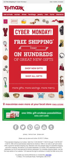 All Gifts, Cyber Monday