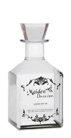 Maiden Distillery Edition Gin. Wow is this pretty and out of stock : ( PD