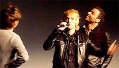 [Gif] MUSE - Première Live at Rome Olympic Stadium - La Géode, Paris - 05/11/13