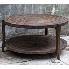 Lowest price online on all Uttermost Pias Rustic Coffee Table - 25654