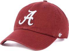 8bb88b7af9d4c Alabama Crimson Tide  47 NCAA  47 CLEAN UP Cap Alabama Crimson Tide Hat