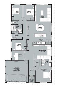 Floorplan, great guest home