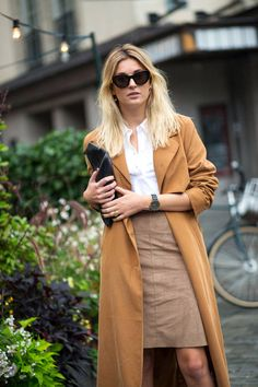 New street style photos in straight from Stockholm Fashion Week—see all the chicest looks here.
