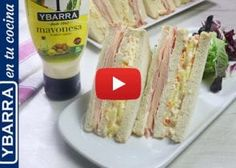 Sandwiches, Tacos, Mexican, Ethnic Recipes, Food, Mayonnaise Recipe, Ham And Cheese, Pastries Recipes, Party Dishes