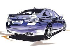 BMW Alpina B5 F10 Bi-Turbo