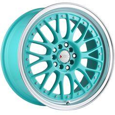 Tiffany Blue Wheel Rim