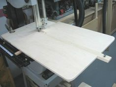 Band Saw Circle Cutting Jig #4 Gabarit Coupe Cercle Pour Scie à Ruban
