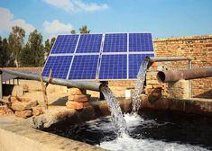 Sistema de bombeo solar para pozos profundos Bombeo Solar, Solar Panels, Farms, Outdoor Decor, Solar Heater, Water Well, Solar Power, Deep, Country