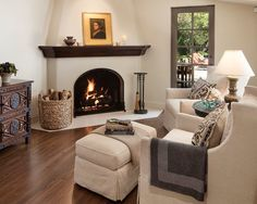 Cottage Fireplace How To Paint calcutta marble fireplace.Gas Fireplace And Mantels tall marble fireplace.Fireplace Shelves How To Build. Stucco Fireplace, Fireplace Seating, Fireplace Built Ins, Bedroom Fireplace, Living Room With Fireplace, Fireplace Surrounds, Fireplace Design, Fireplace Ideas, Corner Fireplaces