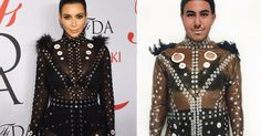 Student recreates iconic celebrity dresses out of trash