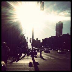 Downtown Nashville Sunset
