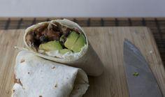 Burrito vegetariano mexicano | En mi cocina hoy