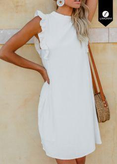 Vestidos para mujer para mujer Limonni Novalee LI1707 Cortos elegantes REF: LI1707  ¿Te gusta? ,Escríbenos a whatsapp +57 3112849928, o al correo comercial@limonni.co.  Visítanos en el sitio web www.limonni.co. Mom Daughter, Weekend Outfit, Need Supply, Cold Shoulder Dress, White Dress, Outfits, Chic, Ideas Para, Womens Fashion