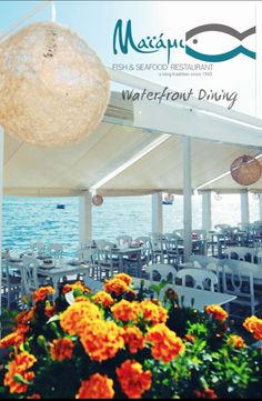 Maiami Seafood Restaurant  Thessaloniki Greece Waterfront dining