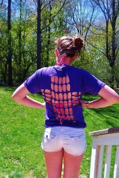 T-Shirt Makeovers - DIY Cross Cut Out T-Shirt - Awesome Way to Upcycle Tees - Cool No Sew Tshirt Cutting Tutorials, Simple Summer Cutouts, How To Make Halter Tops and T-Shirt Dresses. Easy Tutorials and Instructions for Teens and Adults http:diyprojectsforteens.com/diy-tshirt-makeovers:
