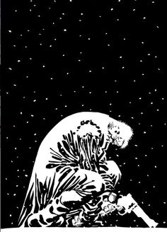 """""""You can't even lift that canon you're carrying, you piece of shot cop."""" Sin City by Frank Miller Frank Miller Sin City, Frank Miller Art, Sin City Comic, Mc Bess, Detective, Dc Comics, Black And White Illustration, Batman, Comic Artist"""