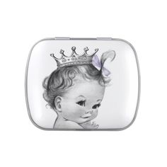 lavender purple princess baby shower candy candy tins from zazzle purple princess baby shower ideas 512x512