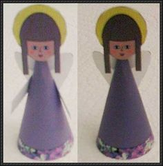 Angel for Christmas Tree Decoration Paper Craft