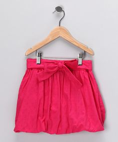Love this Dollhouse Pink Bubble Skirt - Girls by Dollhouse on #zulily! #zulilyfinds