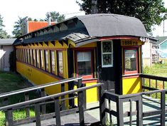 Homes Made From Old Cabooses. Lots of links to sale and renovation tip sites.