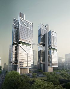 Gallery of Foster + Partners Unveil Images for Towering DJI Robotics Headquarters in Shenzhen - 2