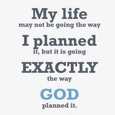 Its quite the plan... lost some important people on the way... but god knows what he's doing I guess :/