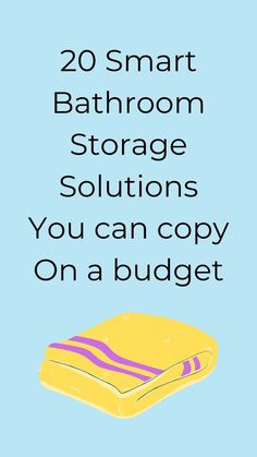 Looking for cheap and easy ways to organize your bathroom? check out these bathroom storage tips and ideas for smart storage solutions for your bathroom. #hometalk Bathroom Drawer Organization, Bathroom Storage Solutions, Organization Ideas, Storage Ideas, Under Bathroom Sinks, Bathroom Sets, Small Space Storage, Smart Storage, Diy Bathroom Remodel