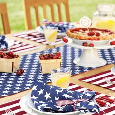 Stars and Stripes Table #4thofJuly
