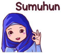 Nu geulis, nu Sunda pisan. Sok atuh mangga ! Emoji, Emoticon, Quotes Lucu, Tumbrl Girls, Muslim Couples, Line Store, Beautiful Hijab, Line Sticker, Cute Stickers