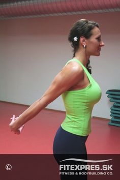 Strečing - biceps