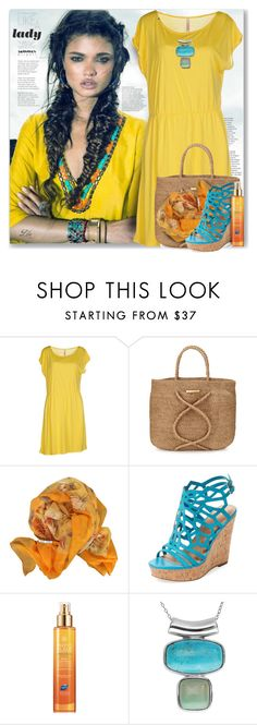 """""""Summer Brights"""" by breathing-style ❤ liked on Polyvore featuring SUN68, ViX, Hermès, Charles by Charles David, Phyto and Journee Collection"""