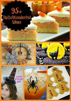 95+ HalloWonderful Ideas {A Round-Up of All Things Spooky} via thefrugalfoodiemama.com #Halloween