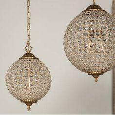 Globe Pendant, Lantern Pendant, Mini Pendant, Crystal Pendant, Pendant Lighting, Globe Chandelier, Accent Lighting, Chandeliers, Globe Lights