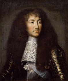 Charles Le Brun | Titre de l'image : Charles Le Brun - Portrait de Louis XIV (1638-1715)